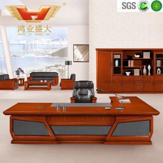 广东鸿业办公家具 厂家直销 办公桌 高档豪华总裁班台 HY-D鸿业7号