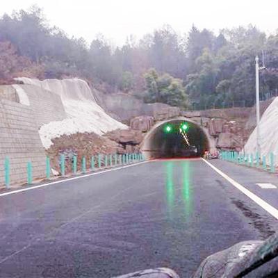 四川桃巴高速隧道灯照明改造