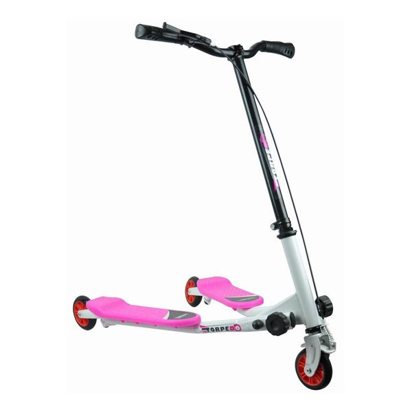 3 wheels kids pulse scooter with swing function