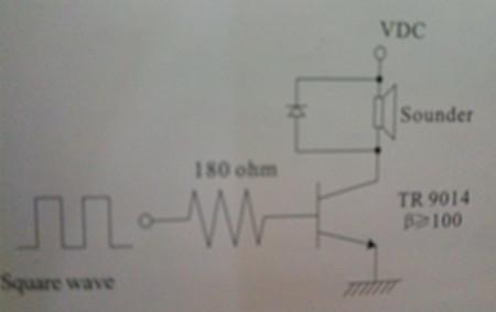 蜂鸣器驱动电路-思威特资讯