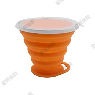 定制硅胶折叠杯,硅胶折叠咖啡杯