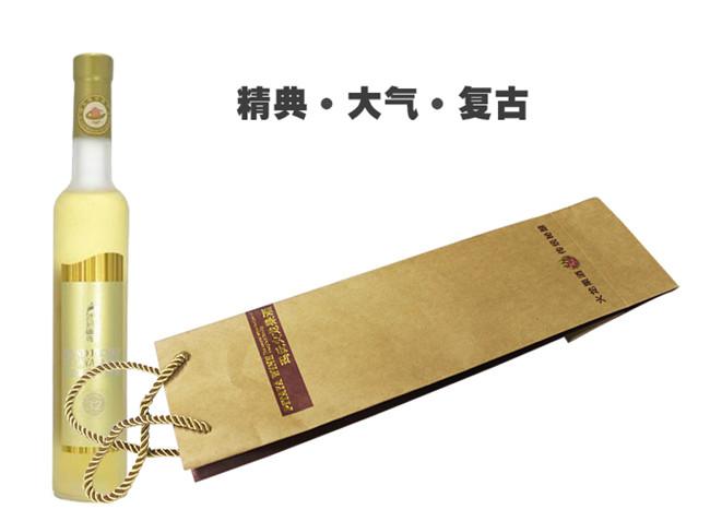 公司纸业进口牛卡纸玛氏果酒牛皮纸手提袋包装