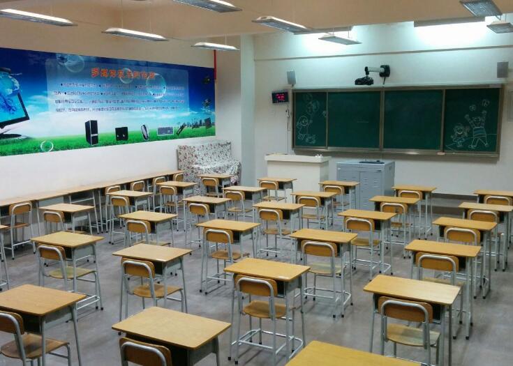 教室照明改造效果图