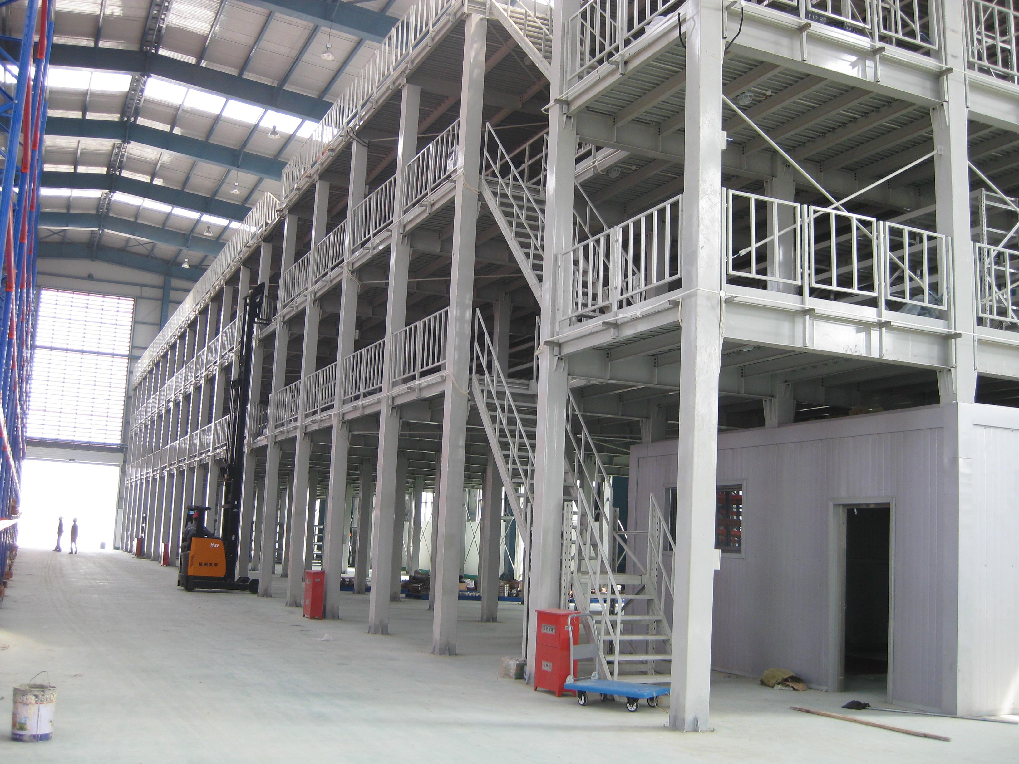 Steel work platform