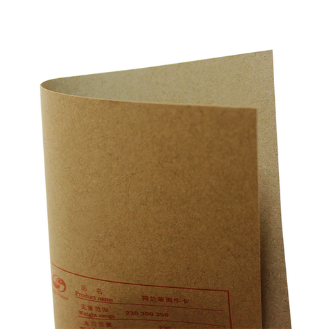 新葡京荷兰牛卡纸 进口再生单面牛卡纸