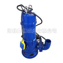 WQ WQD型無堵塞排污泵