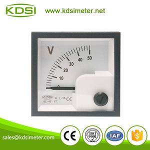 指针式整流型交流电压表 be-48 ac50v 配电柜专用仪表