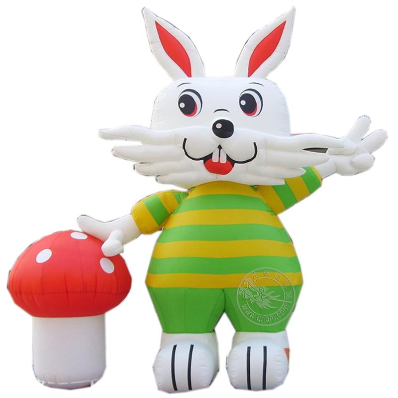 兔子充气模型