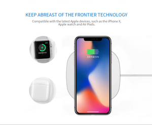Airpower Quick Wireless Charger Desktop Qi Phone For IPhone X Airpods