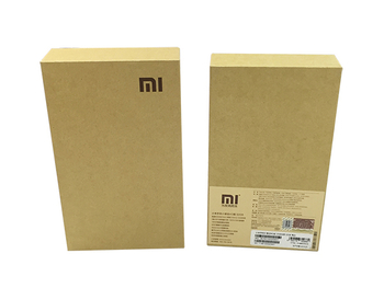 牛皮纸手机包装盒,小米手机包装盒