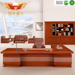 广东鸿业办公家具 厂家直销 办公桌 高档豪华总裁班台 HY-D鸿业3号