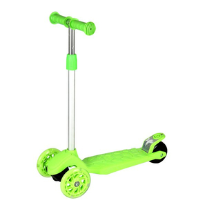 Tri-scooter with PP stepboard and PVC wheel(adjustable alu.T bar)