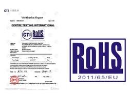 2014-08-25:DCL全系列产品通过欧盟RoHS认证