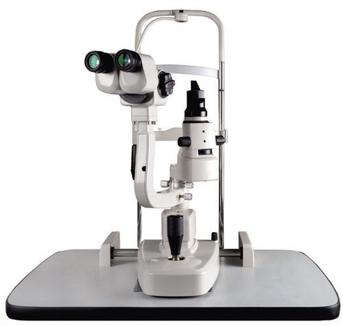 Slm-2X China Top Quality Ophthalmic Equipment LED Lamp Slit Lamp
