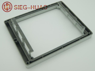 Aluminum Die Casting Anodized Outer Frame for Banking Equipments of ADC12