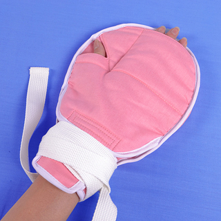 The medical hand fixed wrap (cotton material opens the mouth)