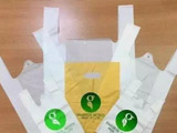 But edible plastic bag - - change world black science and technology!
