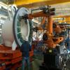 机械手安装制动器