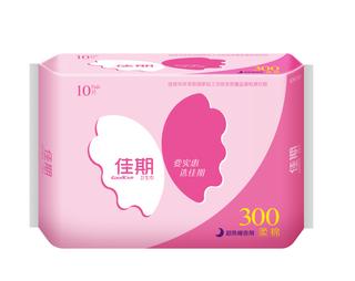 佳期超熟睡柔棉夜用卫生巾10片