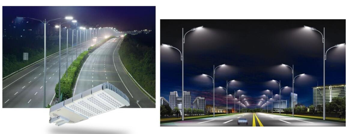 LED路灯使用场景图