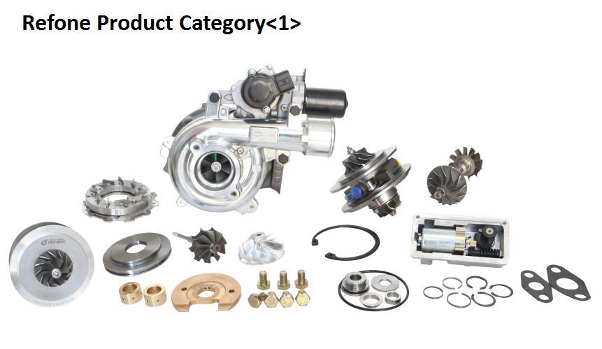 hp rhf5 de la rueda vj33 vj26 wl84 mazda b2500 109 del eje de la turbina del turbocompresor