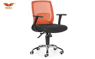 广东办公椅 厂家直销 现代时尚办公室网质职员椅 HY-8265B