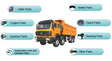 Beiben truck spare parts