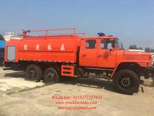 Dongfeng off road fire truck 6x6 truck EQ2082E6D