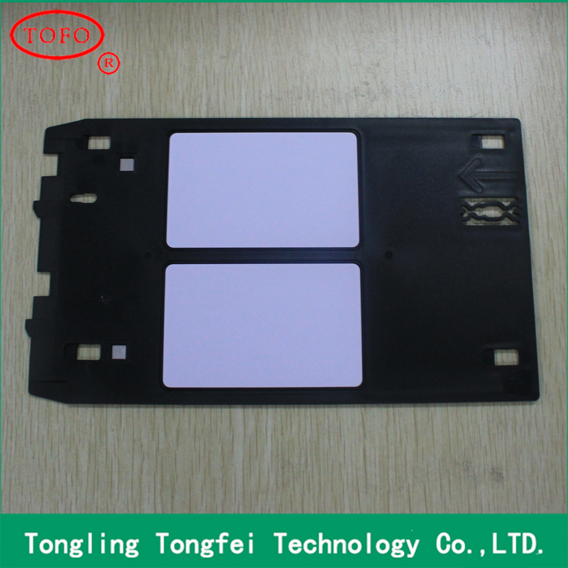 ID card tray for Canon J type printer