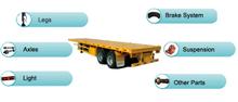 SEMI-TRAILER  、MACHINERY spare parts