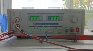 Voltage test equipment