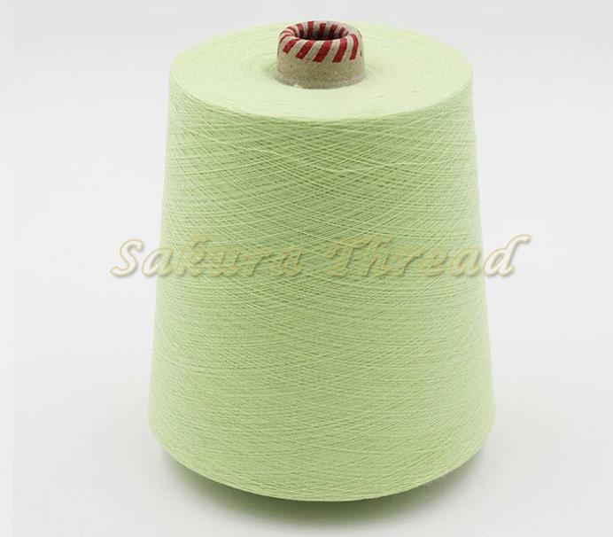 环保 有色人棉纱30S/1色纱 供应 粘胶人棉纱线批发