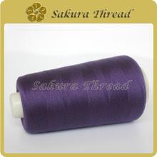 高速平车彩色缝纫线,包芯缝纫线,涤包涤缝纫线