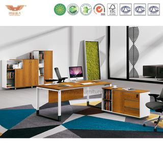 厂家直销 金橡木板式班台 现代时尚办公室经理办公桌 H90-0103