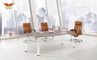 厂家直销 银松木中型会议桌 现代时尚办公室会议桌 H70-0365