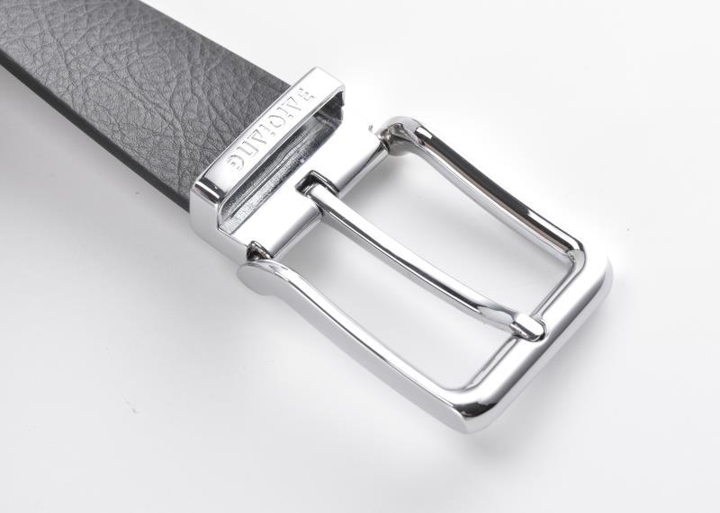 百强橡塑·全能皮腰带,环保腰带定制--针扣式