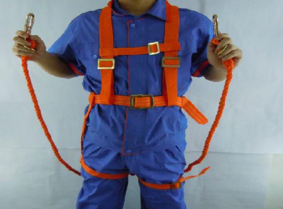 百强橡塑-电工安全带, 高空作业安全带-织带版