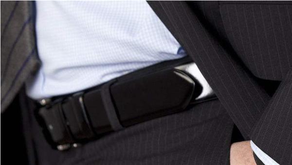 男士腰带, 商务腰带