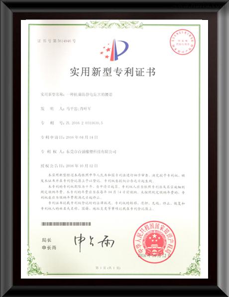 百强橡塑·皮带专利证书.jpg