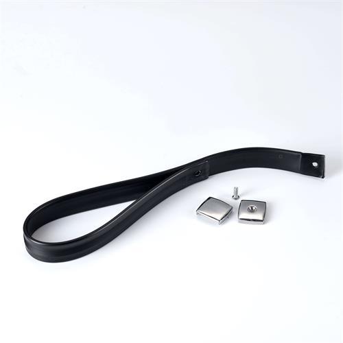 百强橡塑-TPU包胶织带, PVC包胶织带, 包人字纹织带-作用到公交车拉手带