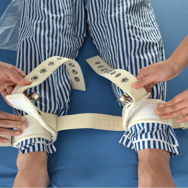 肢体型磁控2号 踝部脚腕磁控约束带 双脚磁扣式约束带