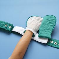 医用磁锁型防拔管约束手套