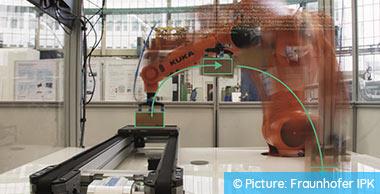 基于云的机器人控制系统