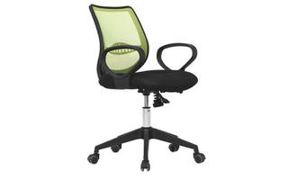 厂家直销 绿背黑座中班椅 现代时尚办公室中班椅 HY-31B