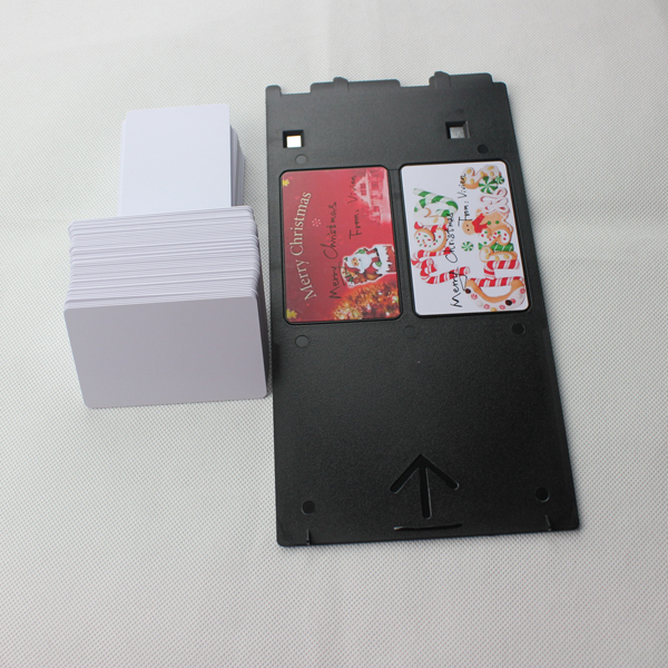 double side inkjet pvc card for Epson or Canon printer