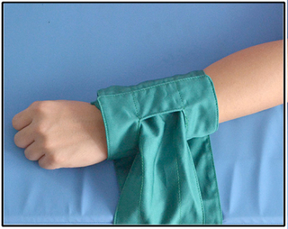 In the surgery the ankle restraint cloth for wiping tables wrist ties a belt the wrist department to tie a belt approximately approximately the Manufacturer