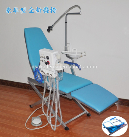 Superb Luxury Model Easy Folding Portable Dental Chair Osakadental Pabps2019 Chair Design Images Pabps2019Com