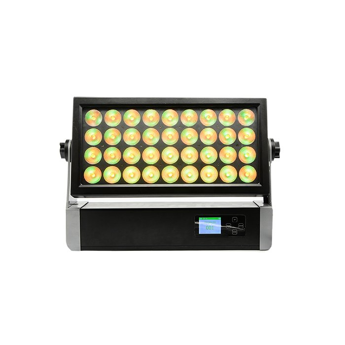 36x15W RDM Wireless LED Wall Washer Light