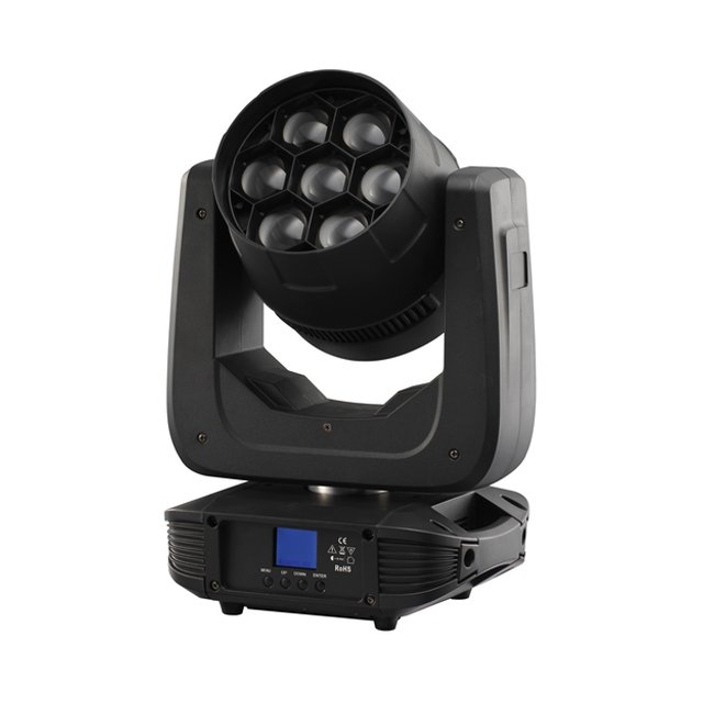 7x40W 4 in 1 LED Moving Head Zoom