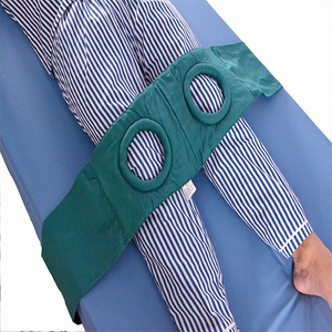 Adds the cotton and kapok knee joint to tie a belt approximately